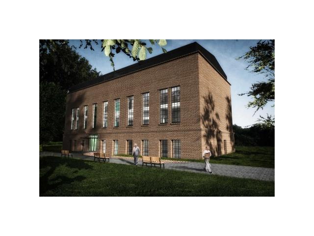 Przebudowa budynku maszyn wyciągowych na Centrum Usług Społecznych Powiatu Bieruńsko-Lędzińskiego