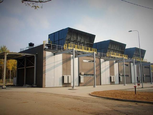 Stacja wentylatorów KWK Knurów Szczygłowice Ruch Szczygłowice