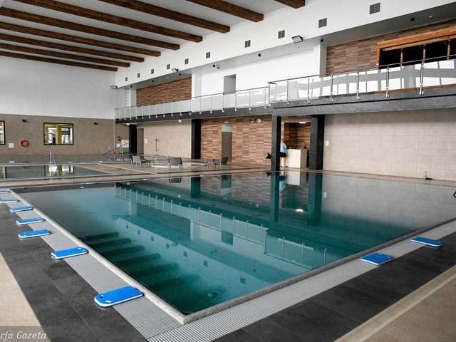 Modernizacja hali basenów solankowych i podbasenia Uzdrowiskowego Instytutu Zdrowia w Ustroniu