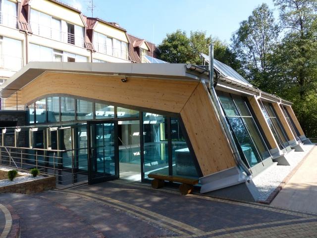 Rozbudowa hotelu w Ustroniu o basen rekreacyjny ze strefą Spa & Wellness